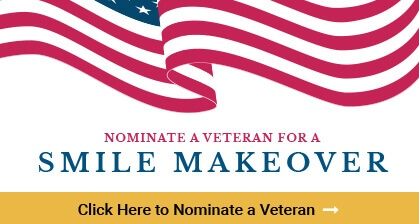 Nominate a Veteran for a Smile Makeover badge