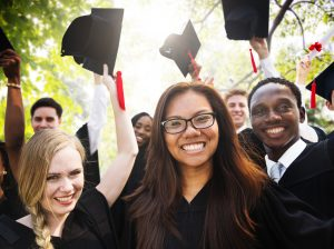 Porcelain veneers in Arlington Heights from Costello Dental Excellence can help you beam with pride on your graduation.